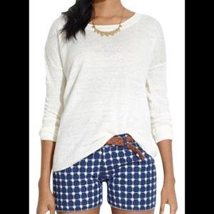 Madewell Linen Studio White Sweater